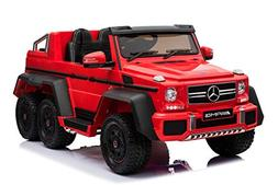 TAMCO Ride on Car Licensed Mercedes-Benz Off Road Car with 6