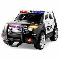 Best Choice Products 12V Ride On Car Police Car W/ Remote Co