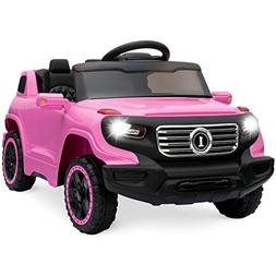 Best Choice Products 6V Kids Ride-On Car Truck w/ Parent Con