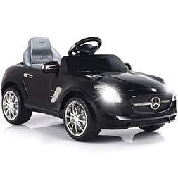 Costzon Ride On Car, Mercedes Benz SLS Rechargeable Battery