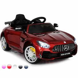 Ride On Toys For Kids 12V Battery Car Mercedes Benz GTR Remo