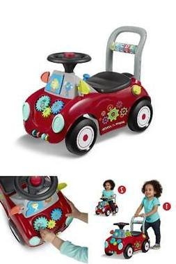 Radio Flyer Ride-on and Push Walker Interactive Toy, Busy Bu