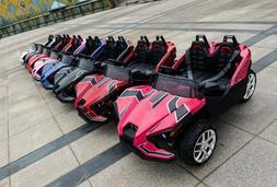 RIDE ON BIG 12V 10AH 4 X 4 electric Car with RC Slingshot Po
