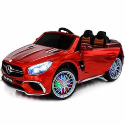 Ride On Car Electric Kids Toys Mercedes Remote Control MP4 S