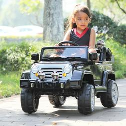 Ride On Jeep Style Truck 12V Battery Powered Toy Vehicle 2 M