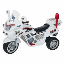 Ride On Toy 3 Wheel Motorcycle Trike For Kids Battery Powere