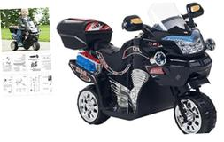 Ride on Toy, 3 Wheel Motorcycle Trike for Kids by Rockin' Ro