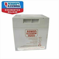Power Wheels Silverado Battery 12v 12 volt Gray Rechargeable