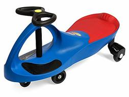 PlasmaCar Ride On Toy Kids Fun Twist Turn Wiggle Footrest St