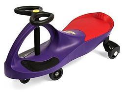 PlasmaCar Ride On Toy Kids Twist Turn Wiggle Footrest Steeri