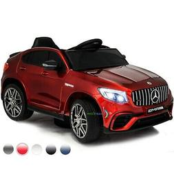 Ride On Toy Pedal Cars 12V Power Mercedes Benz w/ Remote Con