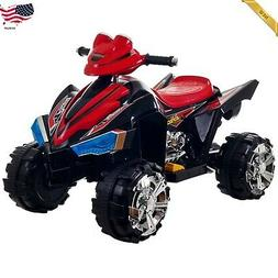 Ride On Toy Quad Rider Battery Powered ATV Four Wheeler Soun