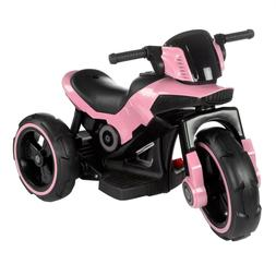 Ride on Toy Trike Motorcycle 2 - 5 Yr MP3 Input Rechargeable