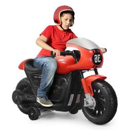 Kids 6V Ride On Motorcycle Electric Motorbike Ride Car Batte