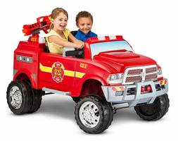 Ride On Toys For 3 Year Olds 12V Fire Truck Kids Boys Toddle