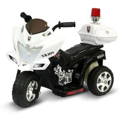 Ride On Toys Police Motorcycle Battery Powered Electric Cars