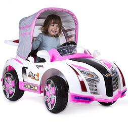 Ride On Toy Car, Battery Powered Sport Car With Collapsible