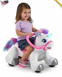 Rideamals Unicorn Ride-On Toy by Kid Trax