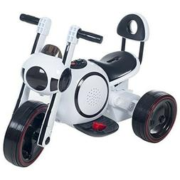 ROCKIN' ROLLERS 3 Wheel LED Mini Motorcycle Trike, Ride on T