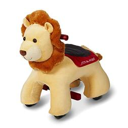 Radio Flyer Rory Electric Ride-On Lion with Sounds, Yellow