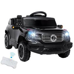 Safety Kids Ride on Car Toys Battery Power Wheels Music Ligh