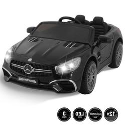 SL65 12V Kids Ride On Car Toy Double Seat Licensed Mercedes
