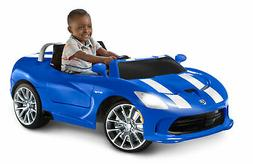 Kid Trax Dodge SRT Viper Ride On Riding Toy Kids Play 12V Ba