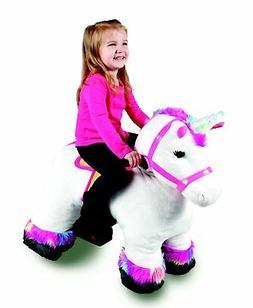 Stable Buddies Willow Unicorn Ride On Riding Toy Kids Plush