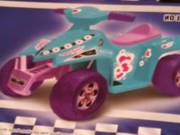 Kid Motorz Superb Quad in Light Blue