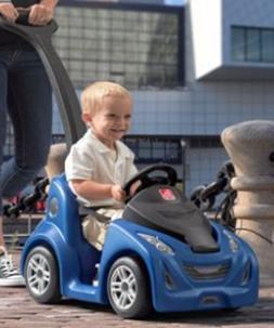 Toddler Baby Kids Car Ride On Push Around Buggy Stroller Kid