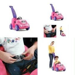 Step2 Toddler Children Ride On Car Buggy Push around Pink To
