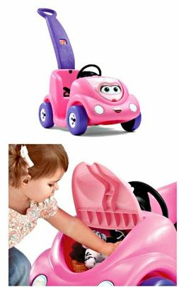 Step2 Toddler Children  Ride On  Car Buggy Push around  Pink