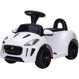 Toddler Ride On Toys 6V Push Car w/ Remote Control Pedal Jag