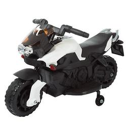 Ride on Toy, 2 Wheel Motorcycle with Training Wheels by Lil'