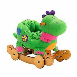 ❤ Toy Kids Ride On Labebe Child Rocking Horse Stuffed Anim