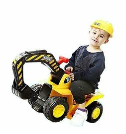 Play22 Toy Tractors for Kids Ride On Excavator - Music Sound