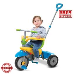 Tricycle Bike Toddler 3-in-1 Outdoor Kid Ride Child Baby Str