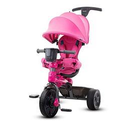 Tricycle Covered Pink Joovy Tricycoo 4.1 Kids Girls Trike Su