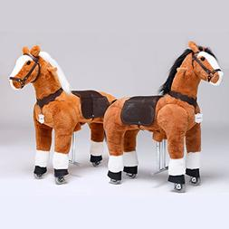 UFREE TWO Medium 36'' Mechanical Ride on Horses