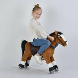UFREE Riding Horse ,29''Small, Rdeamals,Pony Toy, Gift for K