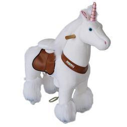 ride horse unicorn battery electricity