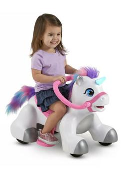 Unicorn Toys Pink Stuff Ride On For Perfect Gift Toddler Gir