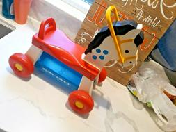 Vintage 1976 Fisher Price Whinny Ride Horse # 978 Very Nice!
