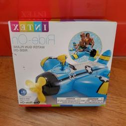 Intex Water Gun Plane Ride-On Kids Float Pool Beach Toy Game