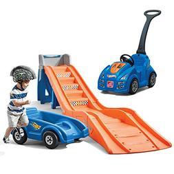 Step2 Hot Wheels Cruise and Ride Combo With Roller Coaster a