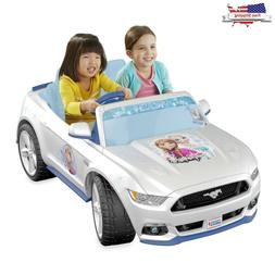 Power Wheels Smart Drive Disney Frozen Ford Mustang 12 Volt