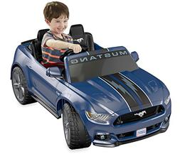 Power Wheels Smart Drive Ford Mustang 12 Volt Ride On - Navy