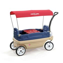 Step2 Whisper Ride Touring Wagon Plastic Canopy for Kids Out