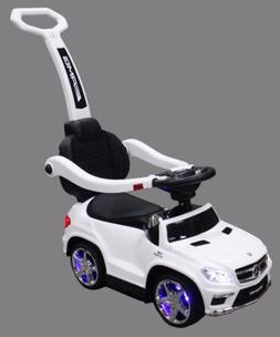 Ride-on Toys Mercedes Ride-On White Ride On Push Car