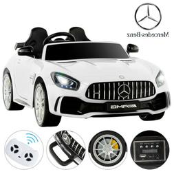 White 12V Kids Ride on Cars Electric Battery Power Wheels Re